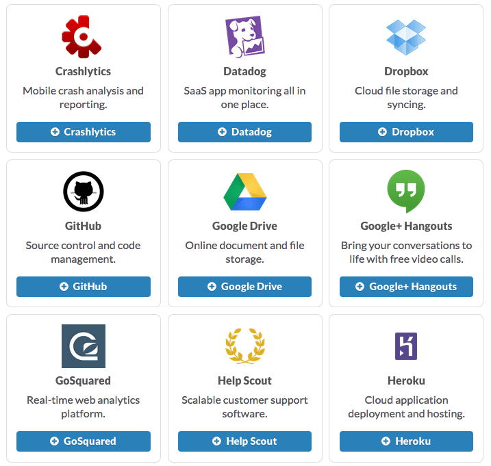 Services that Integrate with Slack