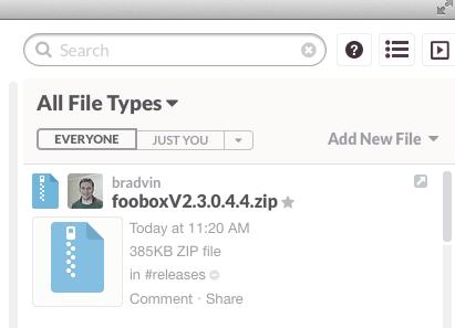 Slack File Sharing