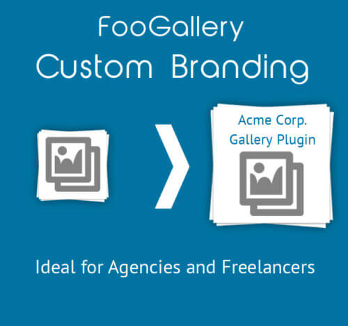 Custom Branding for FooGallery