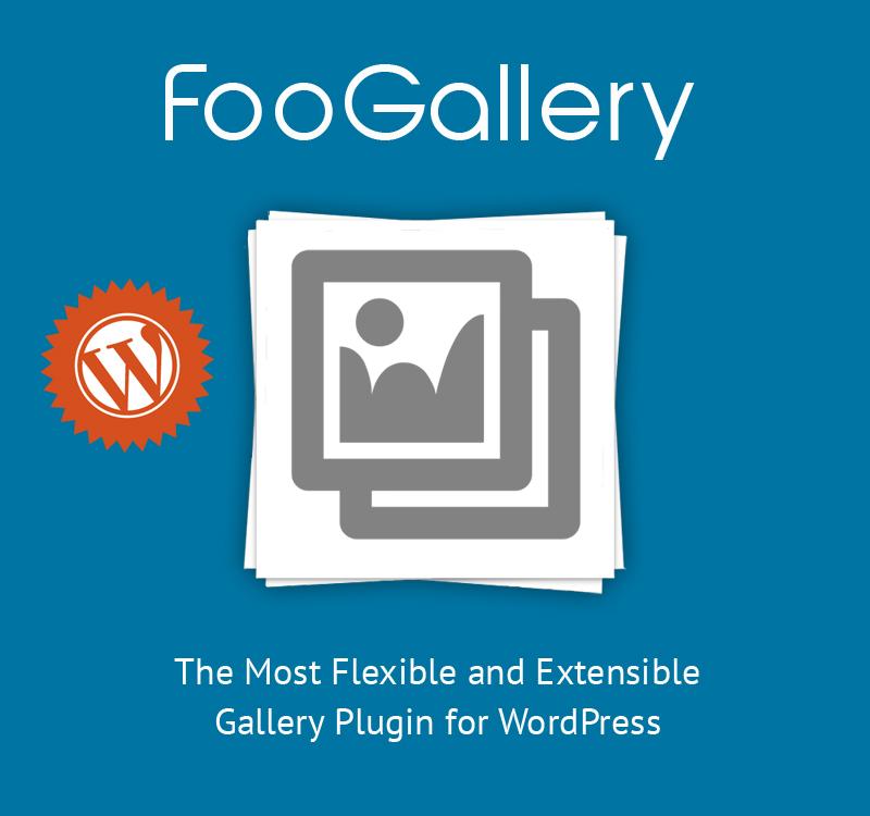 FooGallery - A Better WordPress Gallery Plugin
