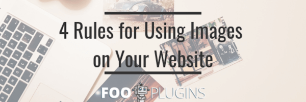 Rules for using images on your website