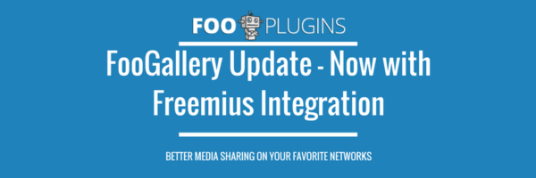 FooGallery update with Freemius integration