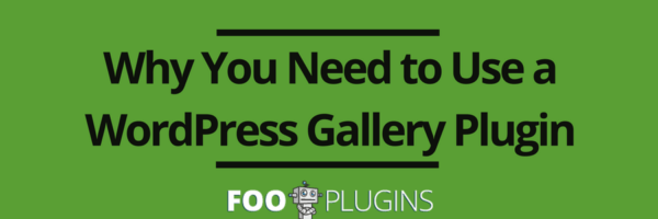 Why you need to use a WordPress Gallery Plugin
