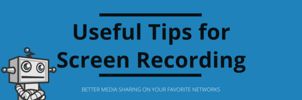 screen recording tips from FooPlugins