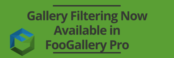 Gallery Filtering with FooGallery Pro