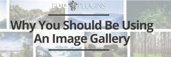 Why you should be using a WordPress Image Gallery for your blog