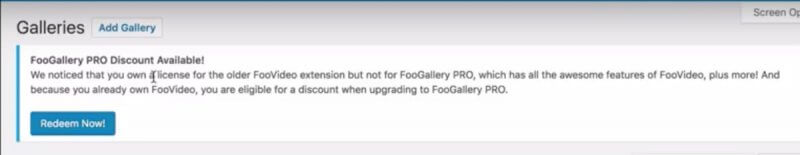 FooGallery Pro Now Includes Video Gallery Features