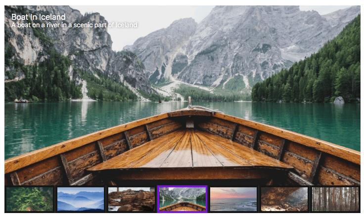 FooGallery Pro Slider Pro template