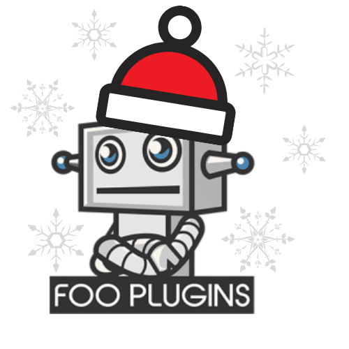 Merry Christmas from FooBot