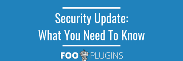 Security update: what you need to know