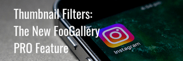 Thumbnail filters: the new FooGallery PRO feature