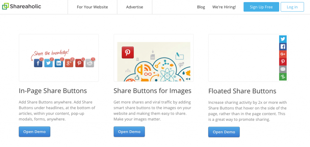 Shareaholic Social Share Buttons for WordPress