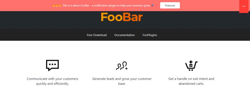 FooBar example