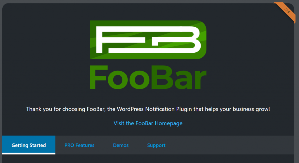 Getting started with FooBar Free