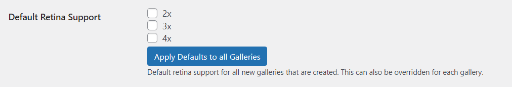 retina support for all galleries