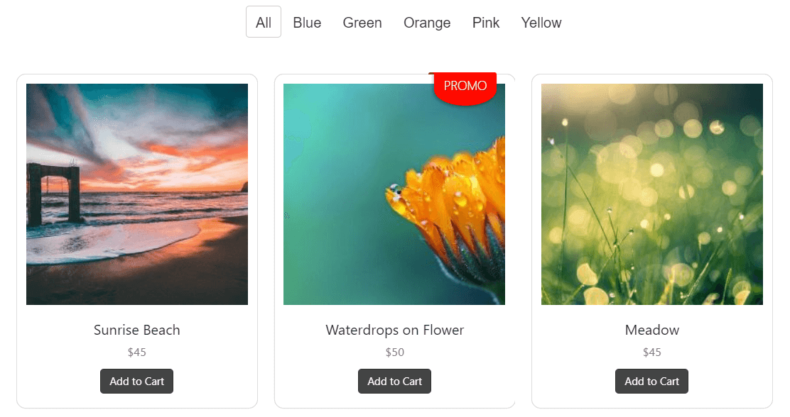 FooGallery PRO Commerce lets you sell photos from your gallery